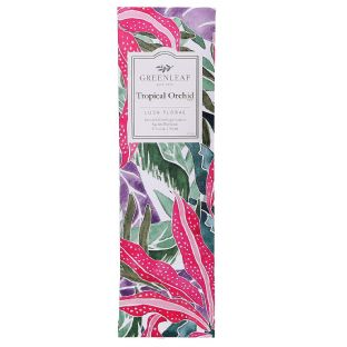 Greenleaf Slim Scented Sachet - Tropical Orchid